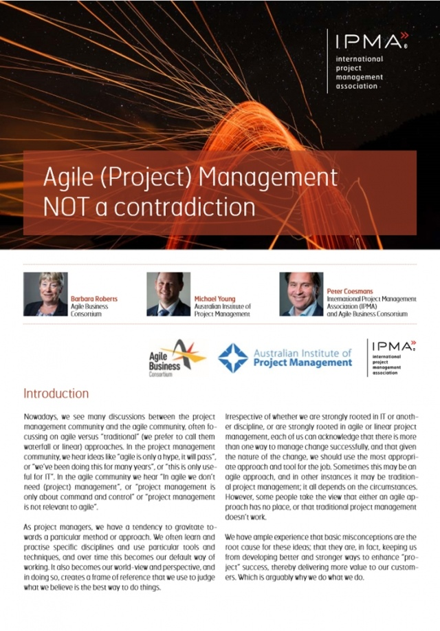 Agile (Project) Management NOT a contradiction