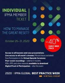 Global Best Practice Week - INDIVIDUAL TICKET for IPMA MEMBER