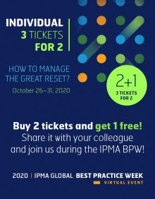 Global Best Practice Week - 2+1 INDIVIDUAL TICKET