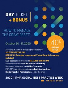 Global Best Practice Week - DAY TICKET + BONUS!