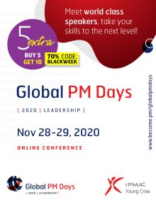 Global PM Days 2020 – LEADERSHIP – Exclusive Pass