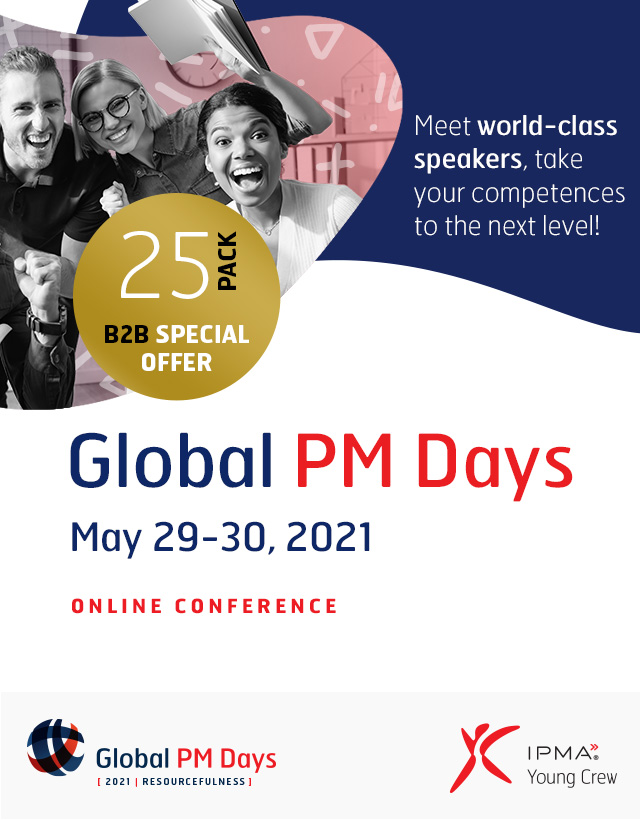 Global PM Days 2021 - RESOURCEFULNESS - Exclusive Pass 25 Pack