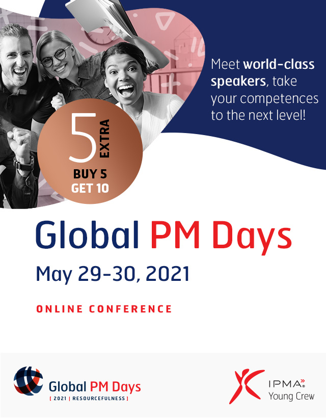 Global PM Days 2021 - RESOURCEFULNESS - Exclusive Pass 5 Extra EARLY BIRD